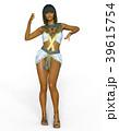 女性 ポーズ ファッションのイラスト 39615754