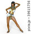 女性 ポーズ ファッションのイラスト 39615756