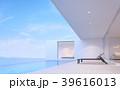 ヴィラ テラス プールのイラスト 39616013