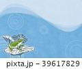 梅雨(和紙の風合い)-rainy season 39617829