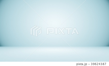 Blue gradient abstract background empty room with 39624387