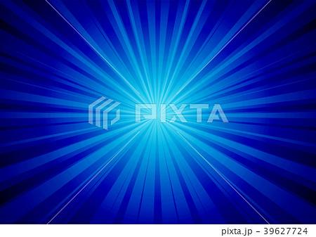 青色放射状背景背景とキラキラ 39627724