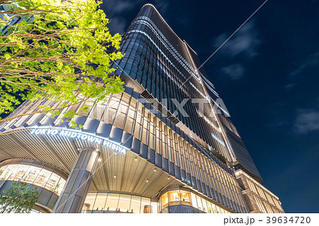 都市風景 東京ミッドタウン日比谷 夜景 39634720