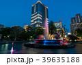 都市風景 日比谷公園と東京ミッドタウン日比谷 夜景 39635188