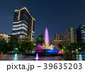 都市風景 日比谷公園と東京ミッドタウン日比谷 夜景 39635203