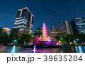 都市風景 日比谷公園と東京ミッドタウン日比谷 夜景 39635204