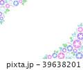 朝顔 花 植物のイラスト 39638201