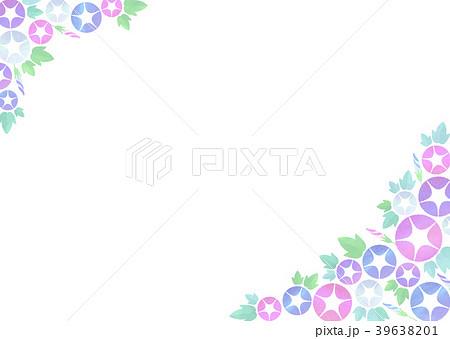 背景素材_朝顔(ピンク系) 39638201