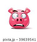 イノシシ 猪 ベクトルのイラスト 39639541