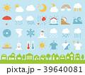 天気のアイコンセット 39640081