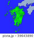 九州地図 39643890