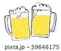 生ビール ジョッキ ビールのイラスト 39646175