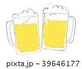 生ビール ジョッキ ビールのイラスト 39646177