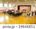 中学校の入学式のイメージぼかし有 39646851