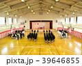 中学校の入学式のイメージぼかし有 39646855
