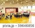 中学校の入学式のイメージぼかし有 39646856