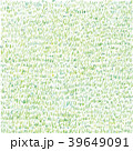 手描きの草模様 39649091
