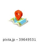 ベクター 地図 pinのイラスト 39649531
