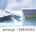 ビジネスイメージ・書類・クリップ・付箋 39650262