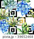 花 水彩画 サキュレントのイラスト 39652468