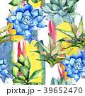 花 水彩画 背景のイラスト 39652470