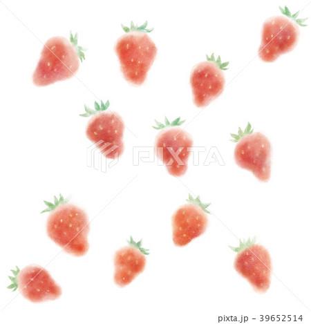 イチゴ模様 39652514