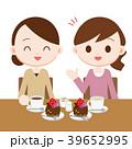 ママ友とケーキでお茶会 39652995