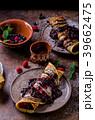 クレープ デザート パンケーキの写真 39662475