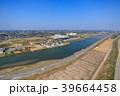 東京オリンピックサーフィン会場の町千葉県一宮町と長生村の海岸付近を空撮 39664458