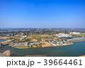 東京オリンピックサーフィン会場の町千葉県一宮町と長生村の海岸付近を空撮 39664461