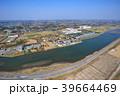 東京オリンピックサーフィン会場の町千葉県一宮町と長生村の海岸付近を空撮 39664469