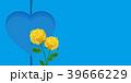 バラ 父の日 ハートのイラスト 39666229