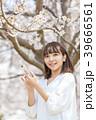 桜 女性 春の写真 39666561