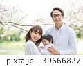 桜 ポートレート 家族の写真 39666827