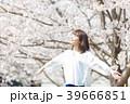 桜 人物 女性の写真 39666851