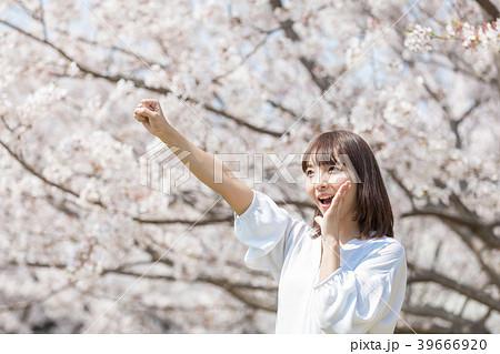 桜 女性 39666920