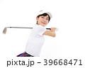 ゴルフ 女性 アジア人の写真 39668471