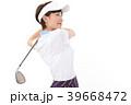 ゴルフ ゴルファー 女性の写真 39668472