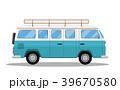 貨車 車 自動車のイラスト 39670580
