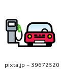 車 自動車 ベクトルのイラスト 39672520