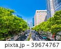 ビル群 オフィス街 新宿の写真 39674767