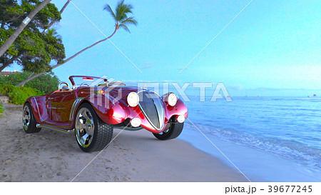 赤いスポーツカー 39677245