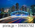 skyline of tsukishima in tokyo at night 39683782