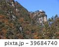 昇仙峡 覚円峰 紅葉の写真 39684740