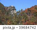 昇仙峡 覚円峰 紅葉の写真 39684742
