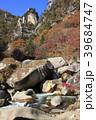 昇仙峡 覚円峰 紅葉の写真 39684747
