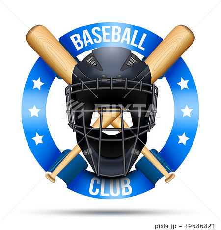 Baseball catcher mask sign 39686821