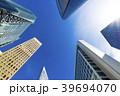 高層ビル ビル 青空の写真 39694070