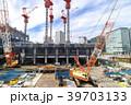 建設現場 クレーン 工事現場の写真 39703133