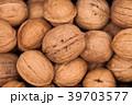 Walnuts background texture  39703577